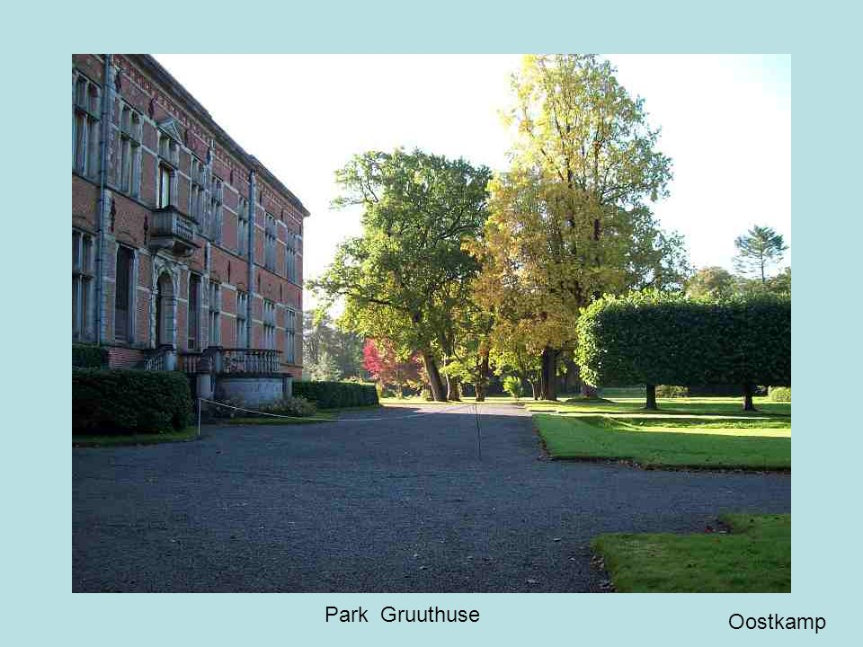 Kasteel Gruuthuse voorkant Oostkamp