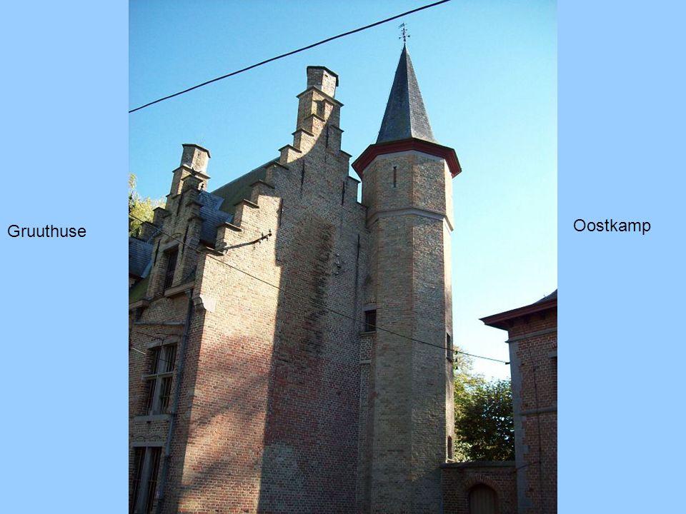 Ingang Blauw Kasteel Oostkamp