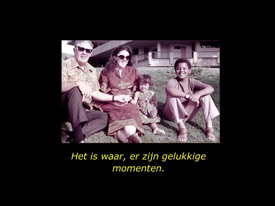 Meneer Stanley Dunham, Ann, Maya en de jonge Obama.