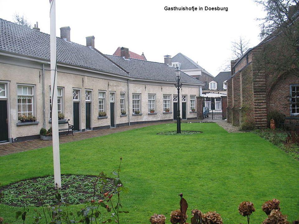Hofje van Gratie in Delft