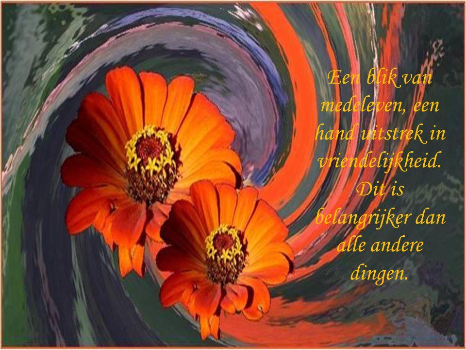Grootmoedigheid ligt niet zozeer in het geven, Maar veeleer in het geven op het juiste moment.