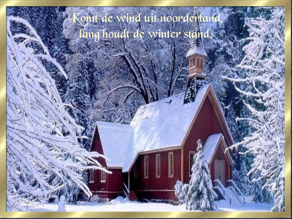 Weinig sneeuw,veel regenweer, doet de akkers en velden zeer.