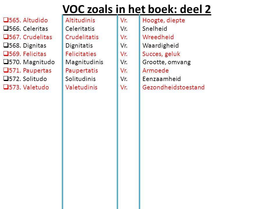 VOC zoals in het boek: deel 2  565. Altudido  566.