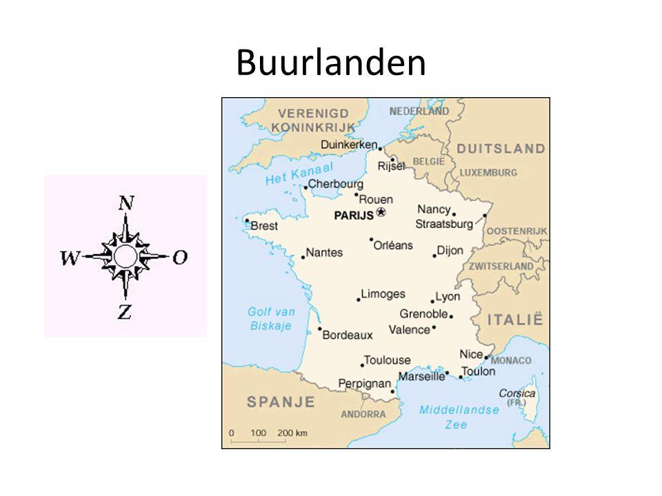 Oppervlakte 643 427 km² Verdeeld in regio's en departementen