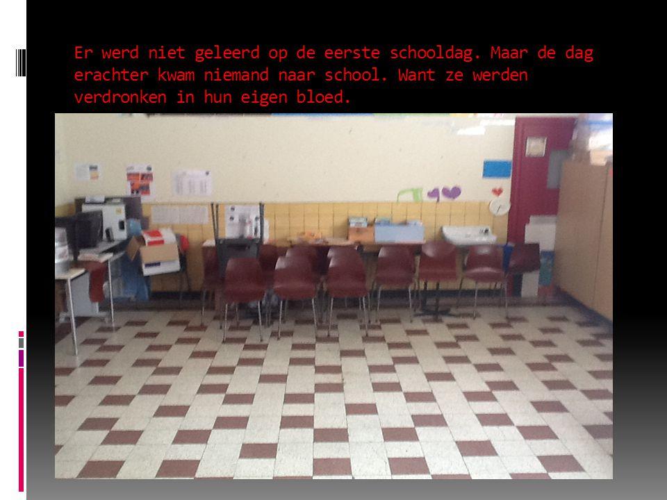 Er werd niet geleerd op de eerste schooldag. Maar de dag erachter kwam niemand naar school.