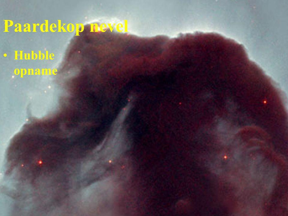 Paardekop nevel Hubble opname