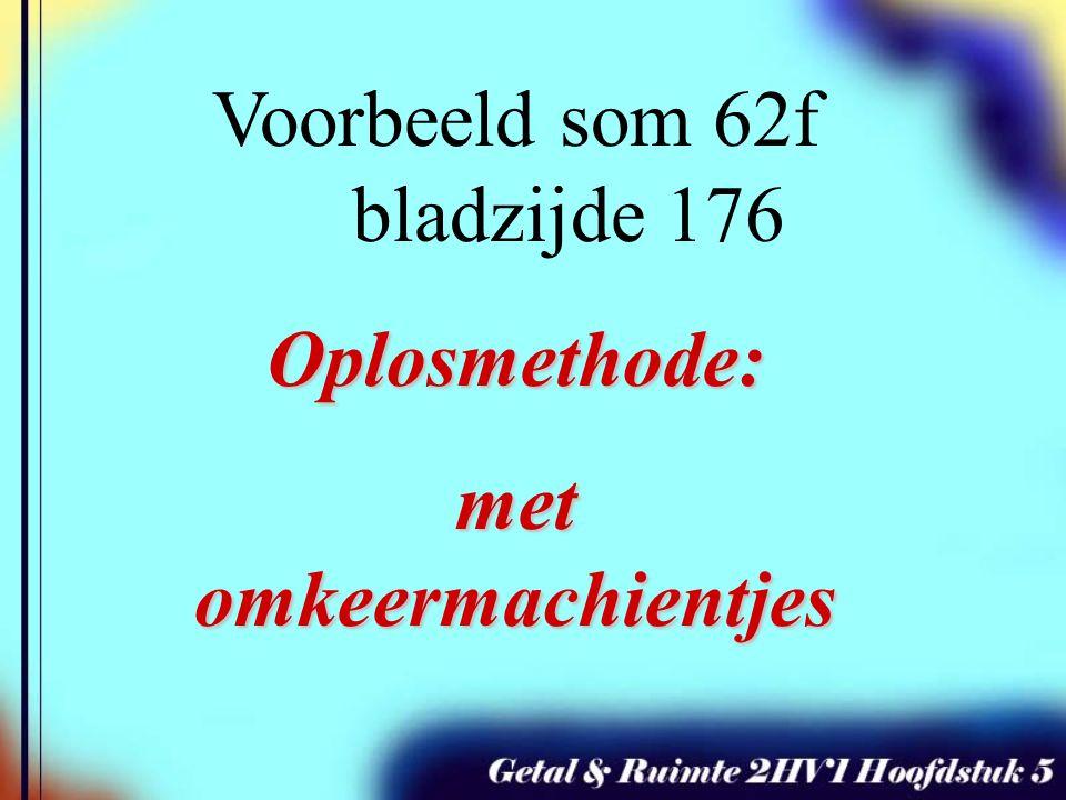 -2(x + 8) 2 + 1 = -17 -2(x + 8) 2 = -18 : -2 (x + 8) 2 = 9 wortel minwortel wortel x + 8 = 3 -8 x = -5 of x + 8 = -3 of -8 x = -11