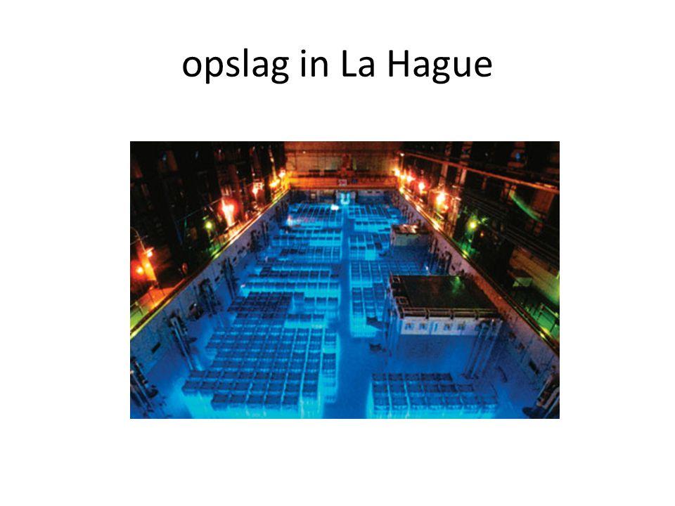 opslag in La Hague