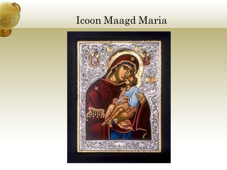 Icoon Maagd Maria