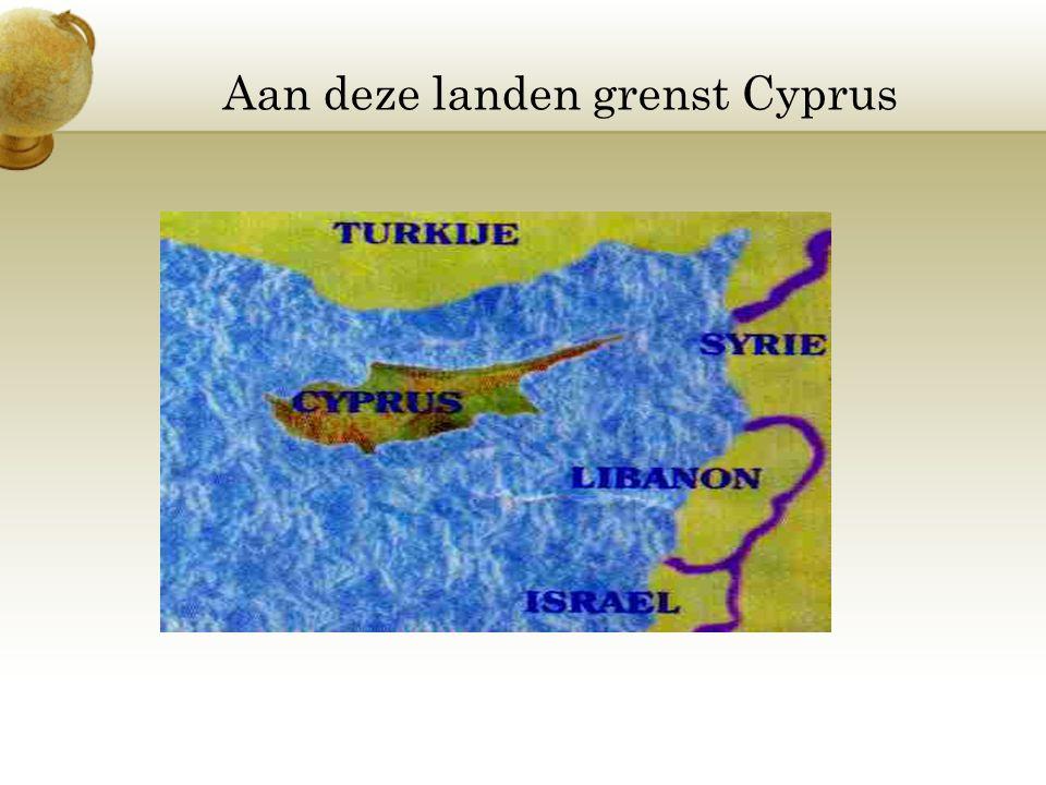 Aan deze landen grenst Cyprus