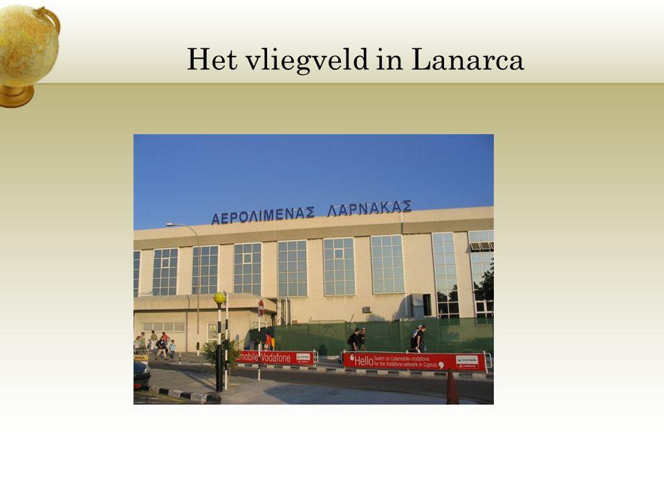 Het vliegveld in Lanarca
