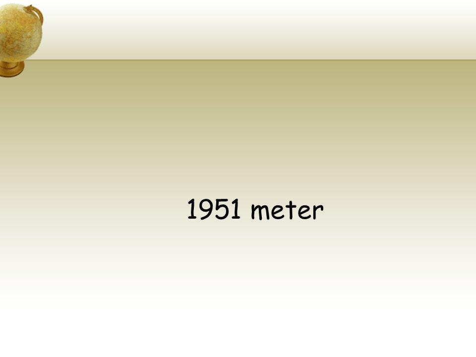 1951 meter
