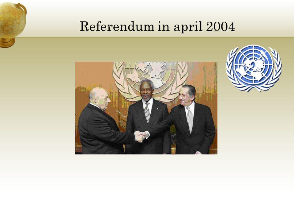 Referendum in april 2004
