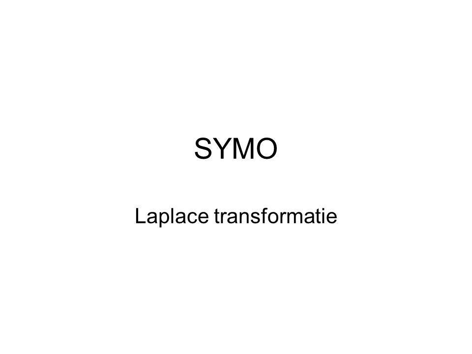 SYMO Laplace transformatie