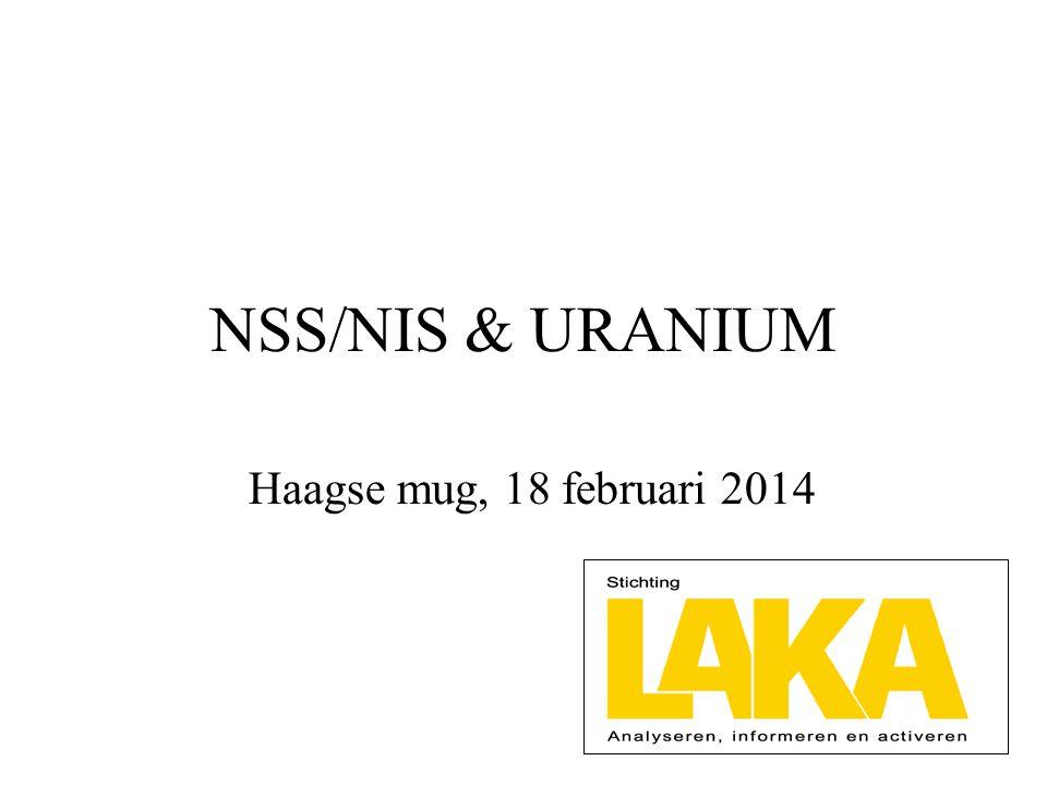NSS/NIS & URANIUM Haagse mug, 18 februari 2014