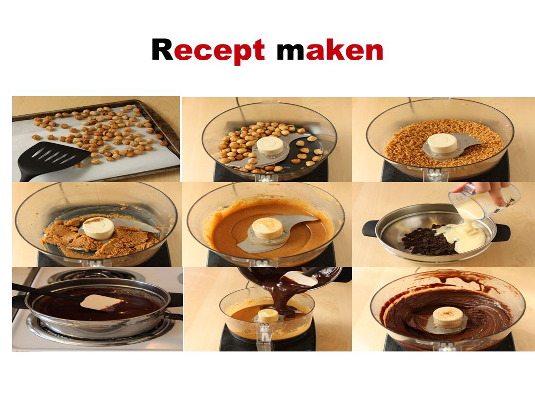 Recept maken