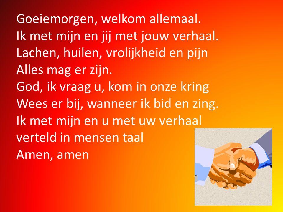 2.Men kan niet leven van brood alleen, maar van ieder woord dat door de Heer gesproken wordt.