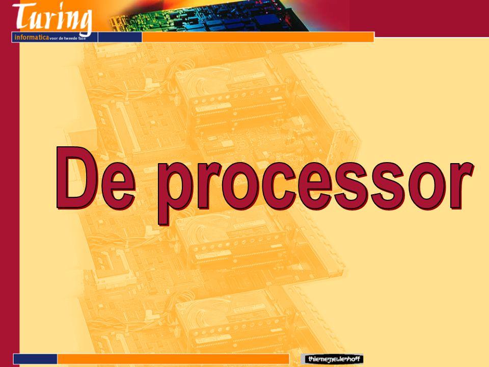 CPU - Central Processing Unit CVE - Centrale VerwerkingsEenheid De processor De CPU is de component die de programma's uitvoert.