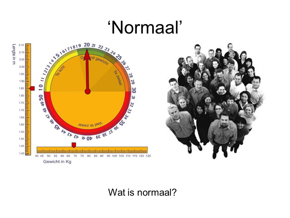 'Normaal' Wat is normaal?
