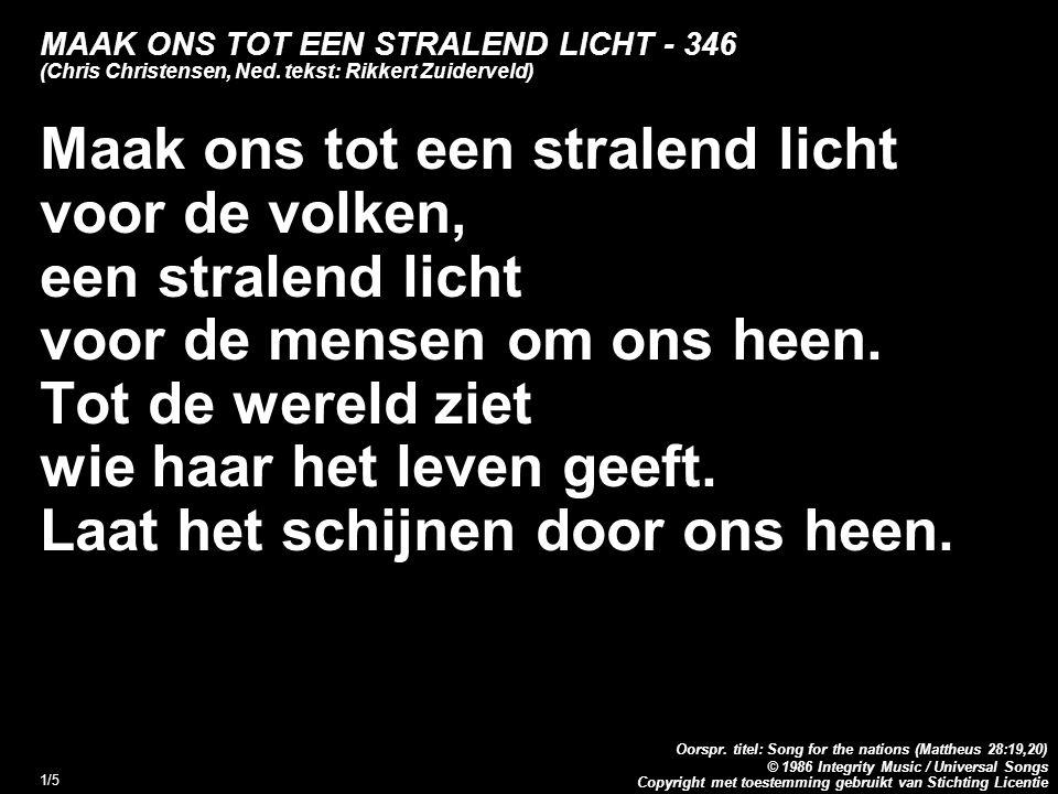 Copyright met toestemming gebruikt van Stichting Licentie Oorspr.