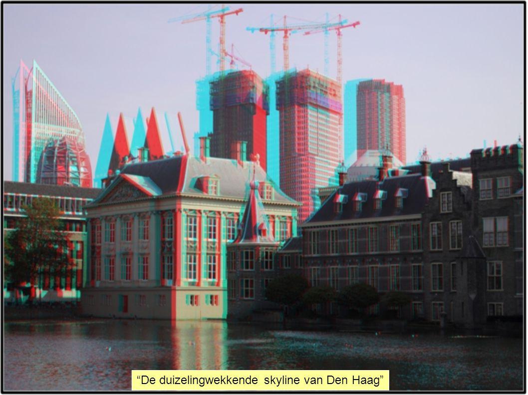 De duizelingwekkende skyline van Den Haag