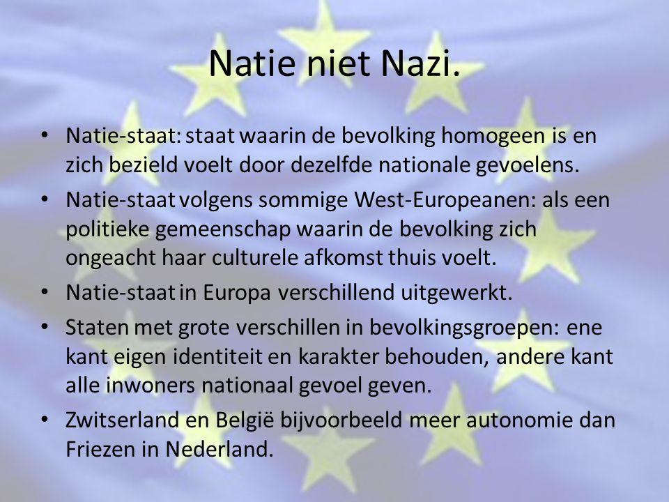 Natie niet Nazi.