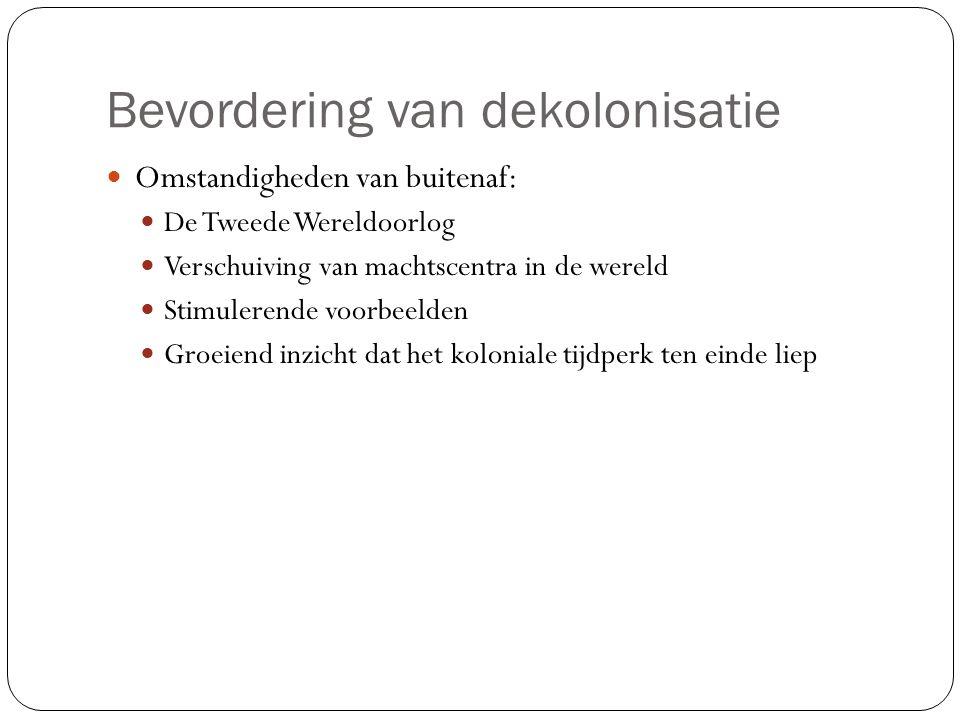 Dekolonisatieprocessen