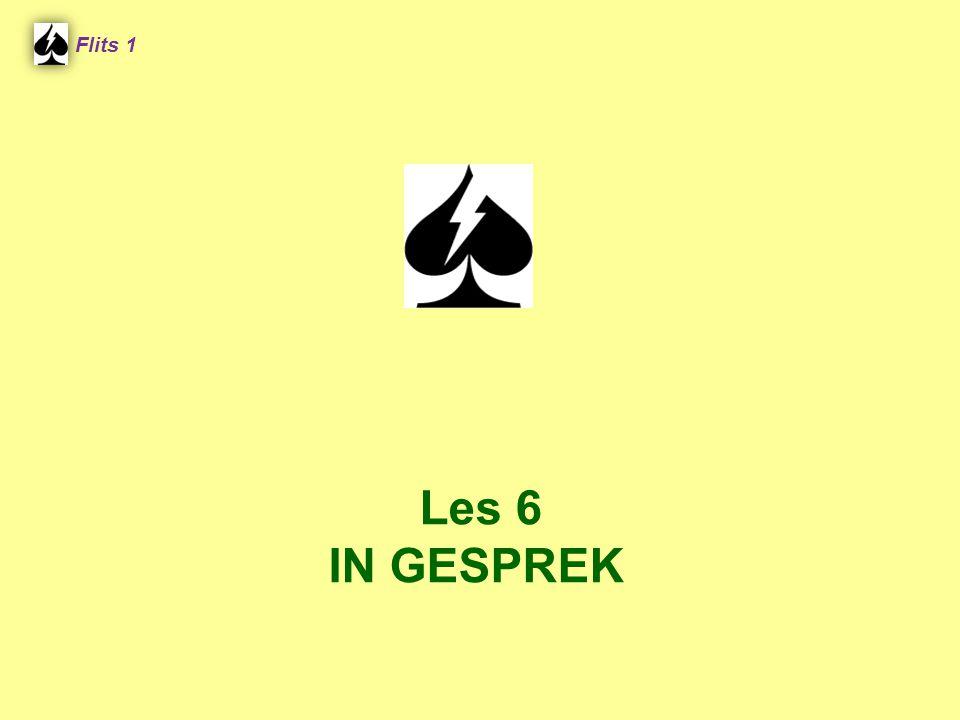 Flits 1 Les 6 IN GESPREK