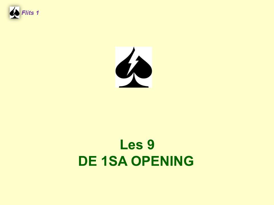 Flits 1 Les 9 DE 1SA OPENING