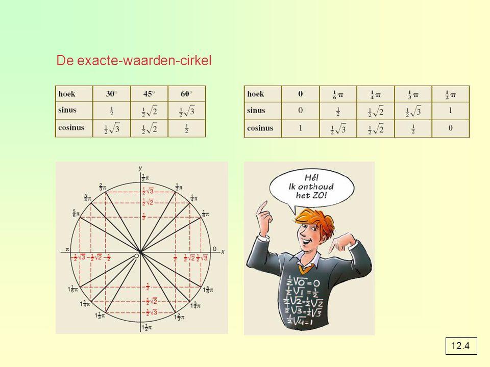 De exacte-waarden-cirkel 12.4