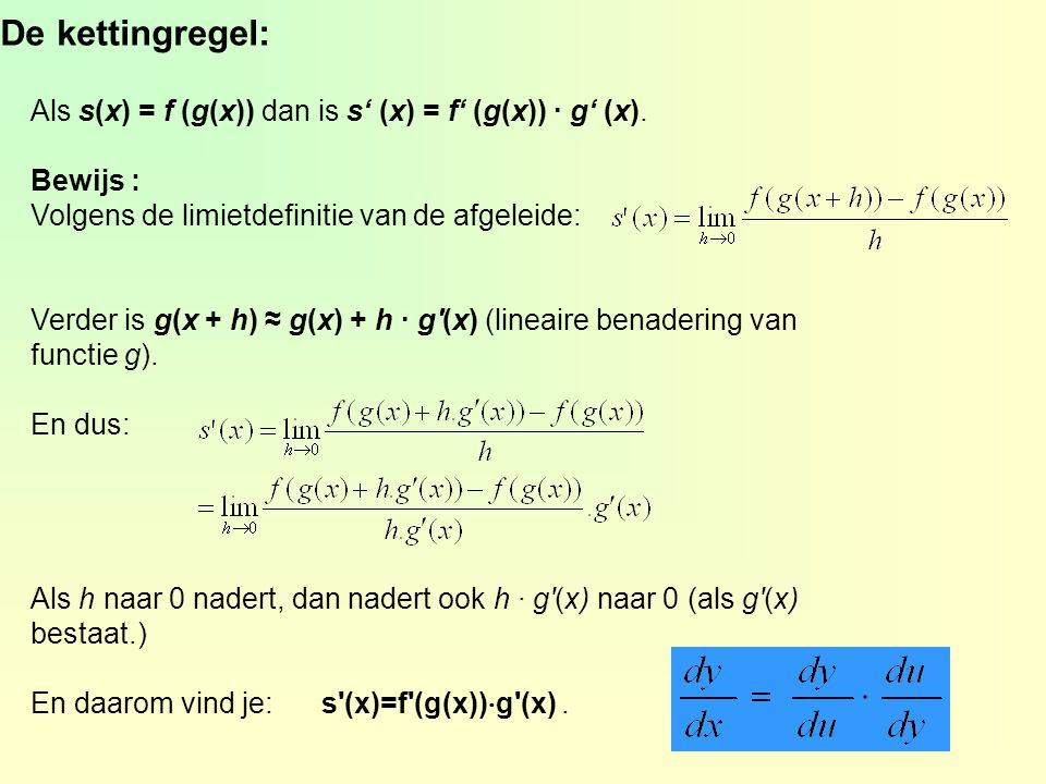 v.b. kettingregel