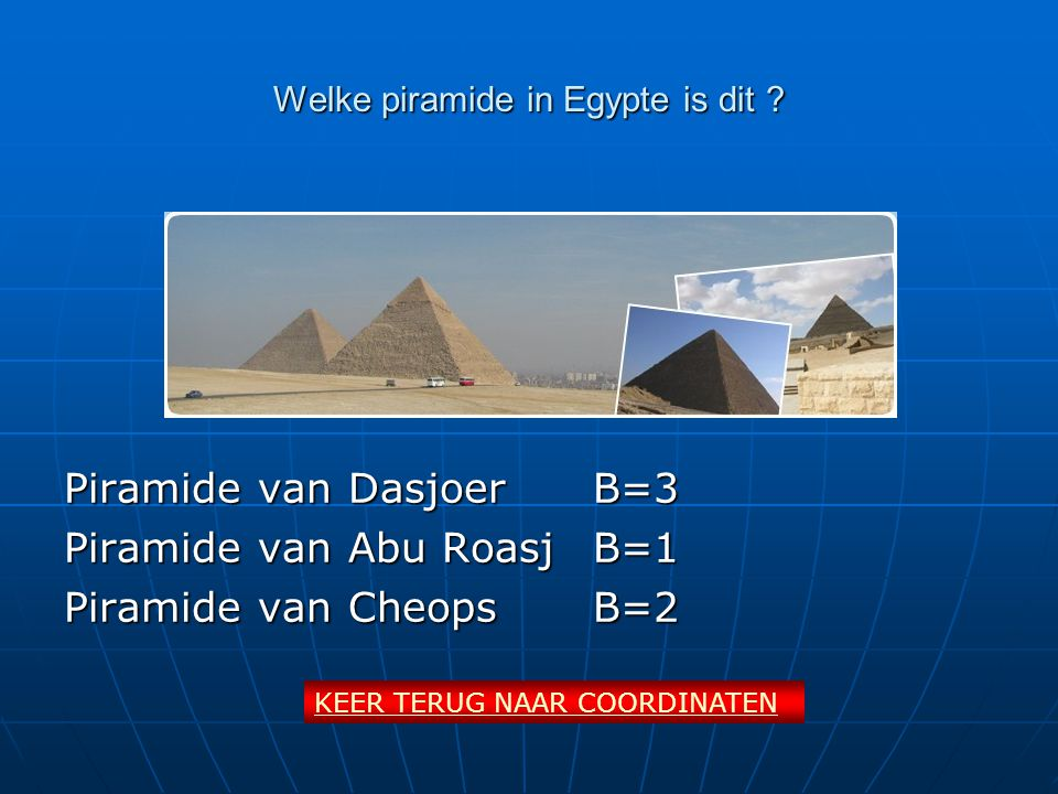 Welke piramide in Egypte is dit .