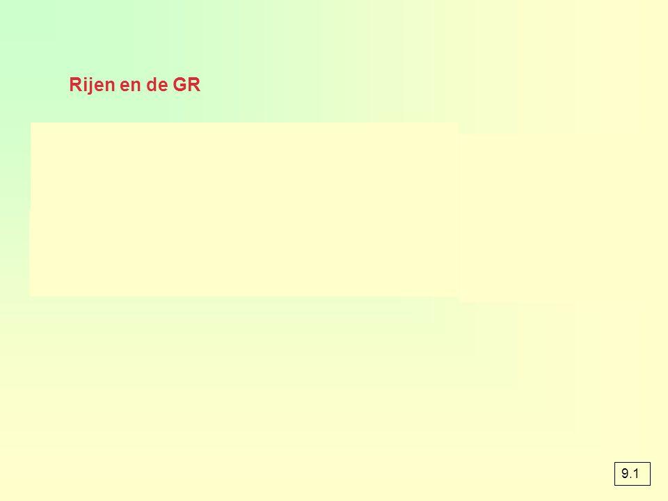 Opgave 2 a & b u 0 =6 u 1 =3*6-10 =8 u 2 =3*8-10 =14 GR 6 3*ANS-10 u 6 =734 u 8 =6566 Term 12 = u 11 =177152