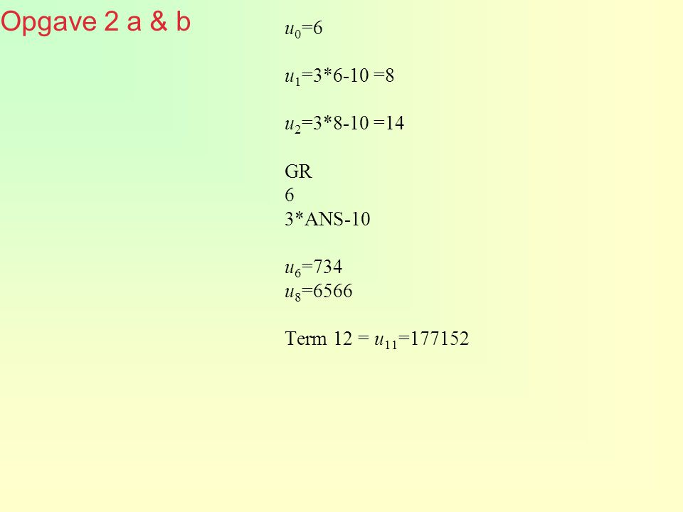 Regelmaat in getallen (2).1 2 4 8 … 512 256 128 64 ….