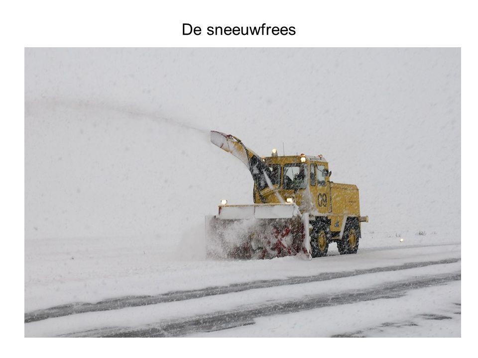 De sneeuwfrees wat duidelijker