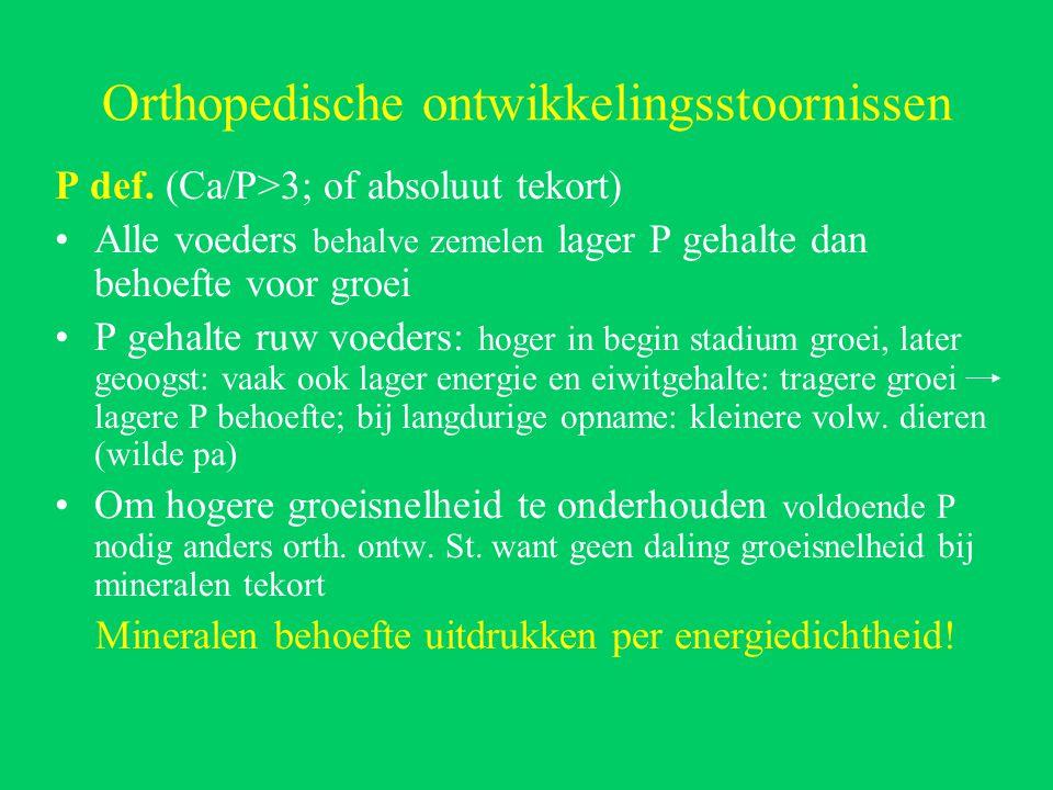Orthopedische ontwikkelingsstoornissen P def.