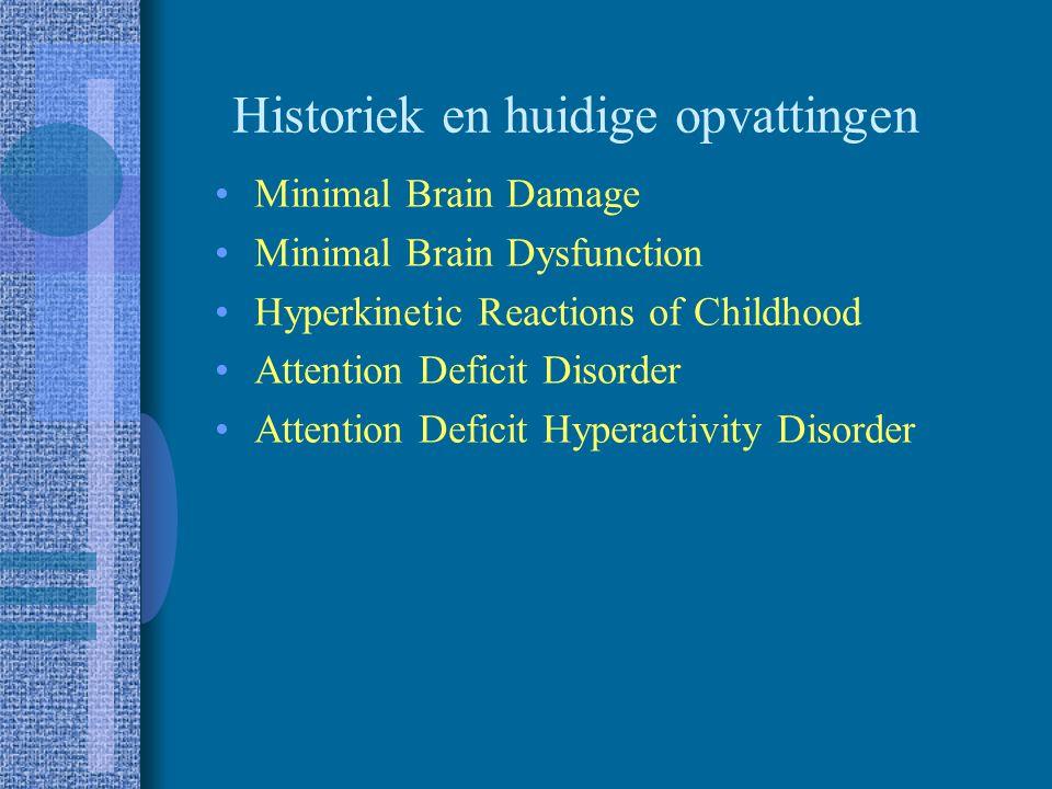 Differentiaaldiagnose Normale variatie Mentale retardatie Hoogbegaafdheid Oppositioneel gedrag Pervasieve ontwikkelingsstoornis Psychose