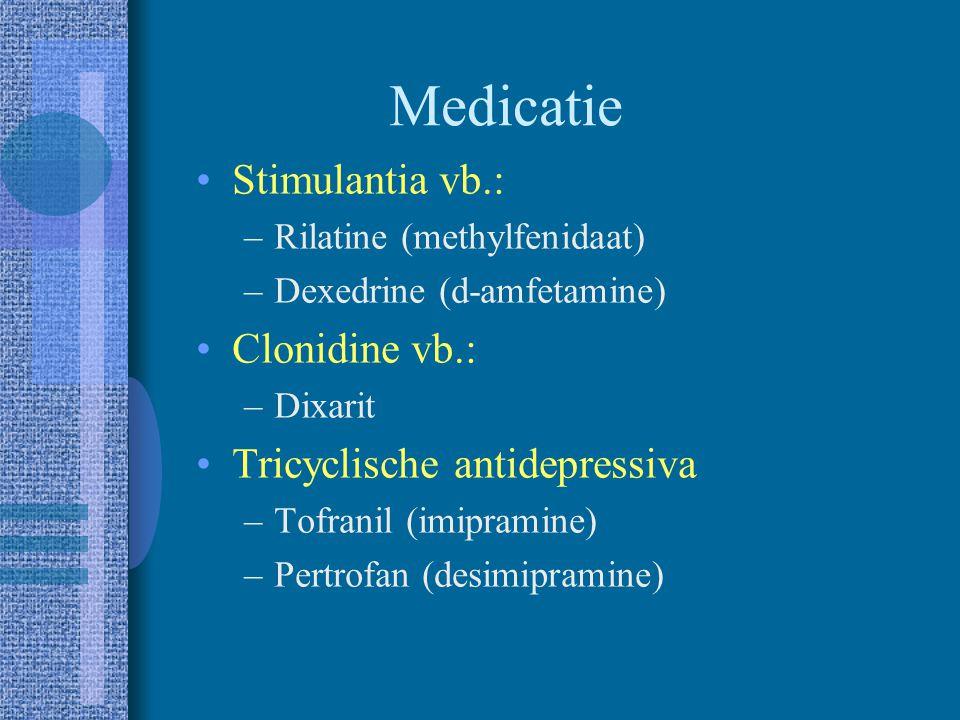 Interventie Medicatie Interventies gericht op het kind –Cognitieve interventies –Bevorderen van sociale competentie Interventies met of door de leerkr
