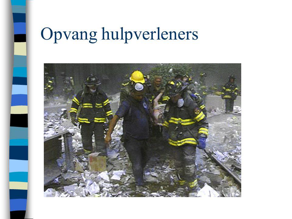 Opvang hulpverleners