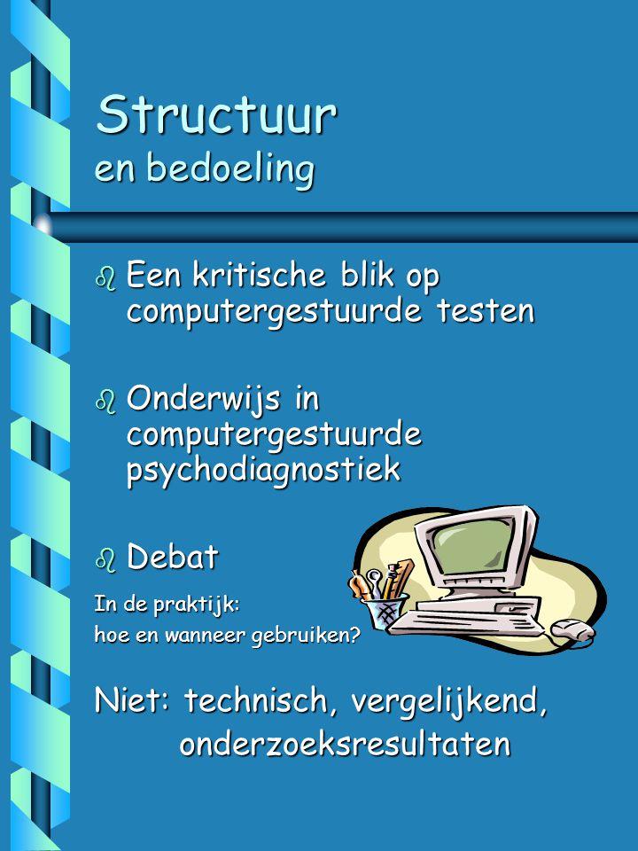 Testpracticum =Testotheek +Testklas Testpracticum =Testotheek +Testklas Illustratie Peter Van Guchten (Vander Meeren & Gerrichauzen, 1993)