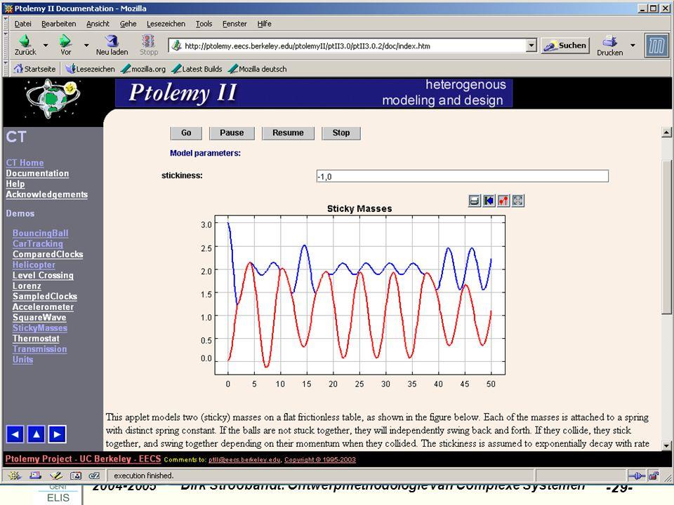 Dirk Stroobandt: Ontwerpmethodologie van Complexe Systemen 2004-2005 -29-