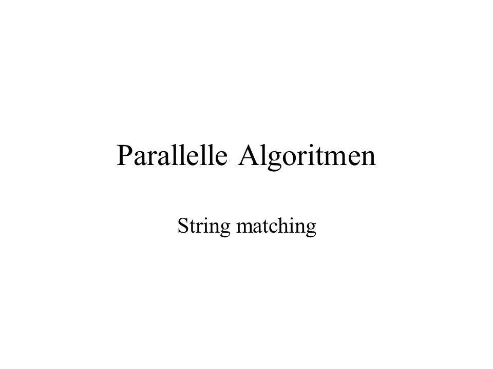 1 Beter algoritme patroonanalyse Bottleneck in eenvoudig algoritme: WITNESS(j) (j = kandidaat in eerste i-blok) berekenen m.b.v.