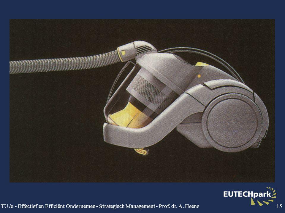 TU /e - Effectief en Efficiënt Ondernemen - Strategisch Management - Prof. dr. A. Heene15