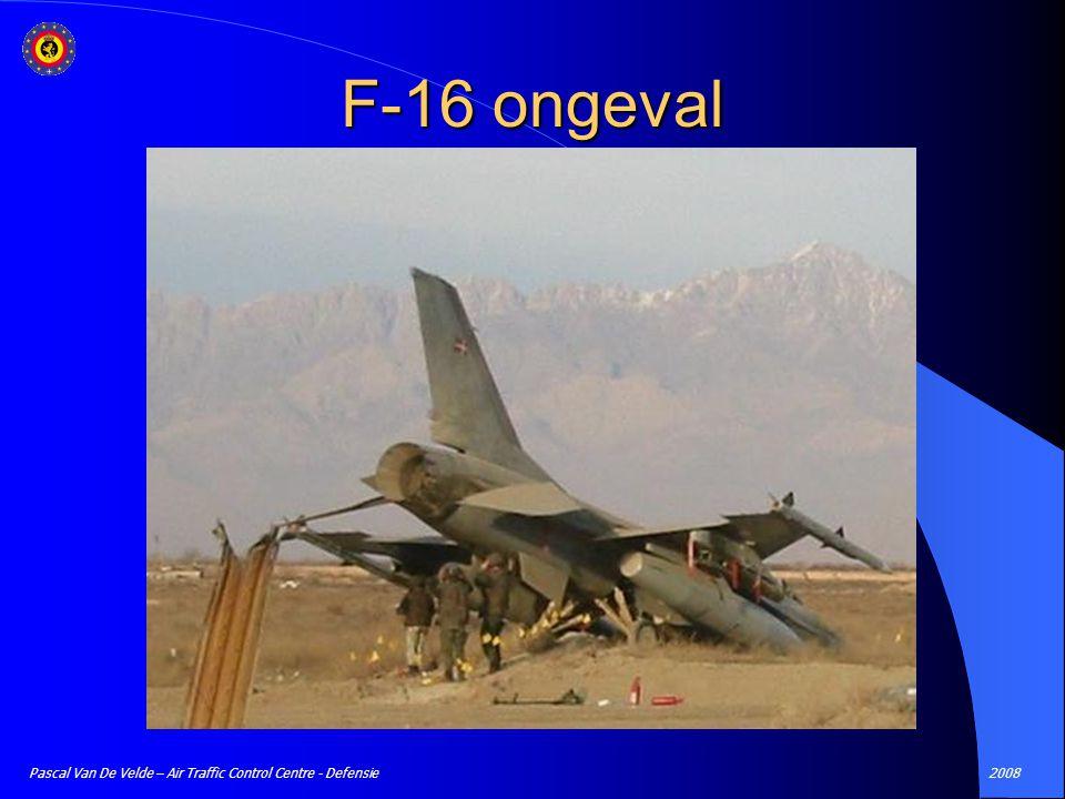 2008Pascal Van De Velde – Air Traffic Control Centre - Defensie F-16 ongeval