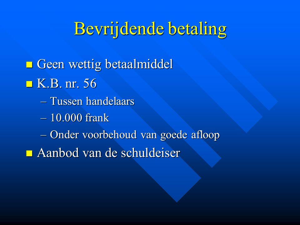 Afwikkeling van de overschrijving Nostro- en vostro-rekeningen Nostro- en vostro-rekeningen Correspondenten Correspondenten Betalingssystemen Betalingssystemen –Netto-betaalsystemen –Bruto-betaalsystemen