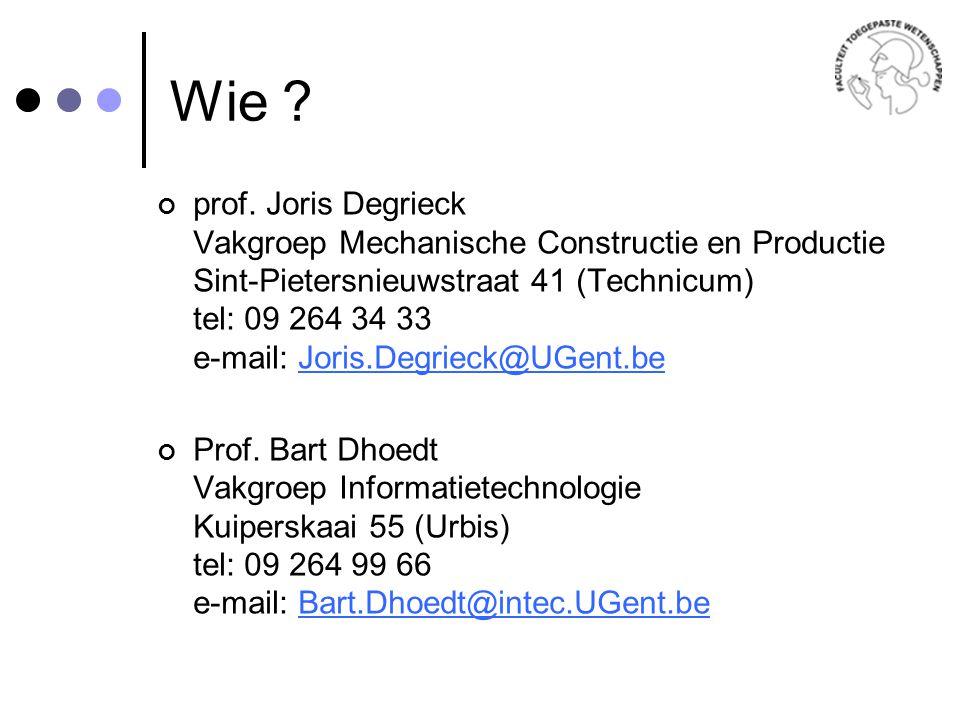 Wie .prof.