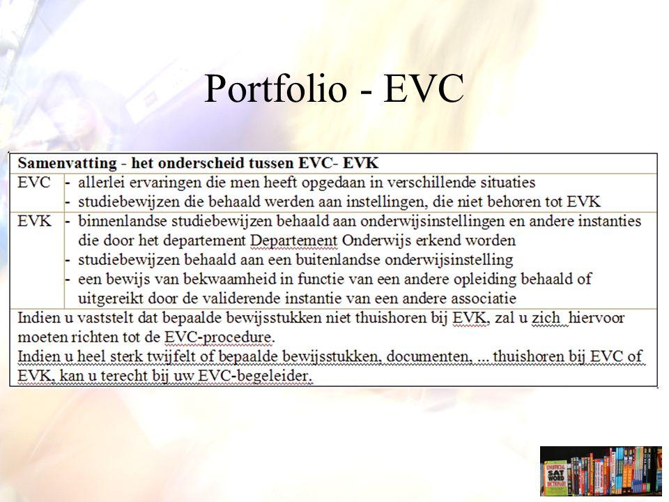 Portfolio - EVC