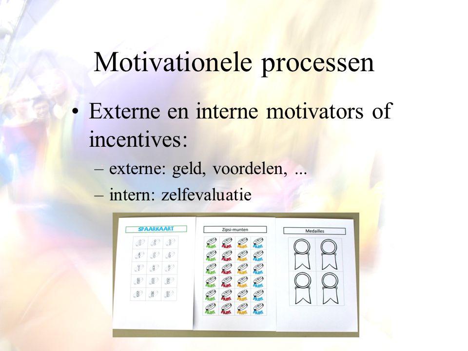 Feitelijk gedrag vertonen: 'doen' Ervaren feedback-loop Productieprocessen