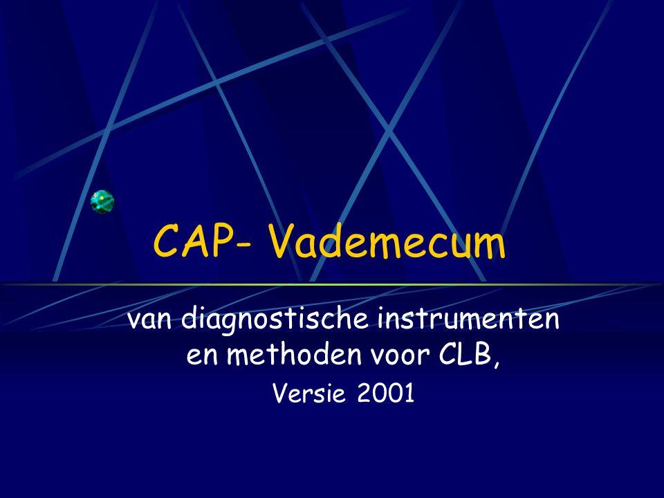 Documentatie van tests en testresearch in Nederland, van de COTAN (BFP-info maart 2000, p. 15) Recent, duur maar toch essentieel Evolutie criteria 198