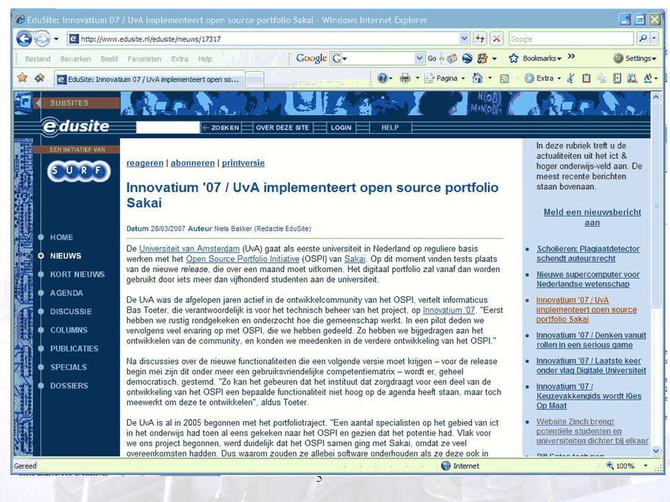 66 ICT en flexibiliteit van onderwijs Salomonson et al (2004) combinatie van F2F en webgebaseerde verpleegsteropleiding.